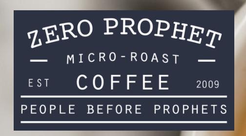 Zero Prophet Coffee Logo